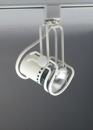 PLC Lighting TR111 WH Pier-120v. 1 Light Track Fixture in White Finish