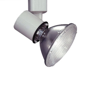PLC Lighting TR200 WH Comet-I Collection 1 Light Track Fixture in White Finish