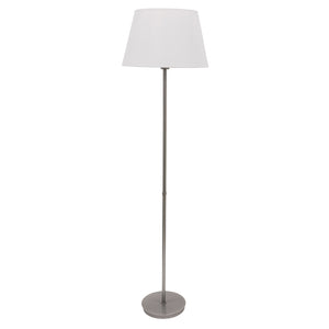 Vernon 3-bulb Floor Lamp in Platinum Gray