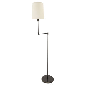 Wolcott Swing Arm Floor Lamp in Oil Rubbed Bronze