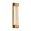 Tower 14in LED Wall Sconce 3500K in Aged Brass