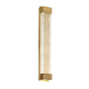 Tower 20in LED Wall Sconce 3500K in Aged Brass