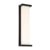 Case 20in LED Outdoor Wall Sconce 3000K in Black