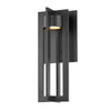 Chamber 16in LED Outdoor Wall Sconce 3000K in Black