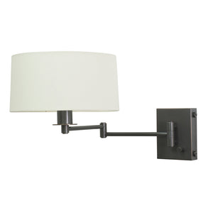 Wall Swing Lamp in Oil Rubbed Bronze with Full Range Dimmer