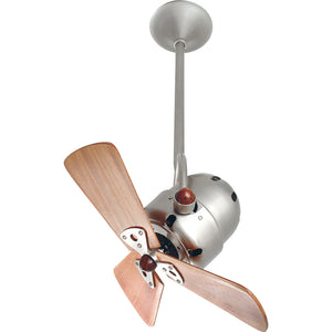 Bianca Direcional 16 Inch Brushed Nickel Ceiling Fan by Matthews Fan Company BD-BN-WD-DAMP
