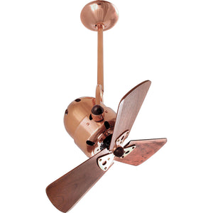 Bianca Direcional 16 Inch Polished Copper  Ceiling Fan by Matthews Fan Company BD-CP-WD