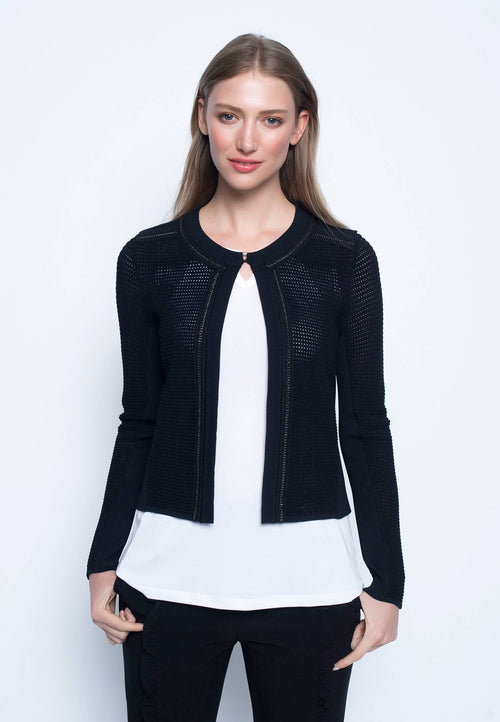 Long Sleeve Sweater Jacket
