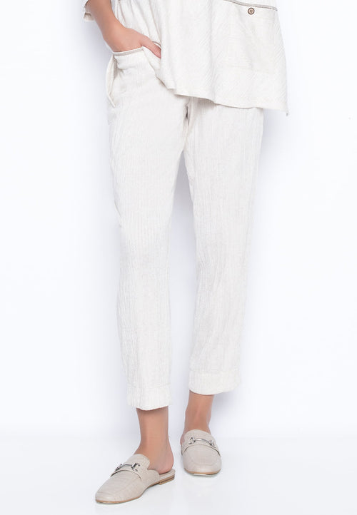 Slim Leg Drawstring Pants by Picadilly Canada