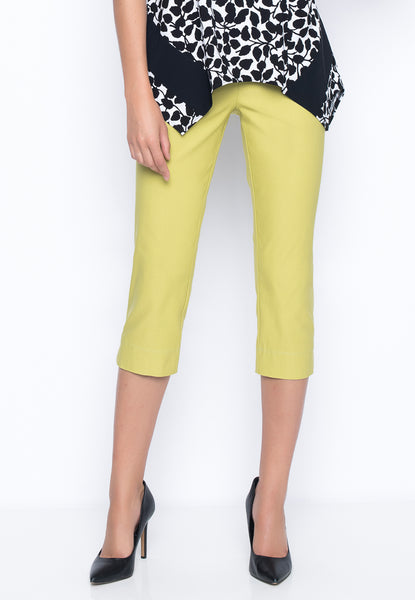 Capri With Side Slits in key lime by Picadilly Canada