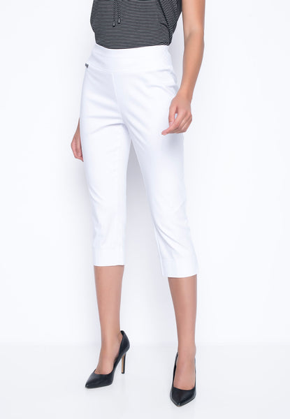 Capri With Side Slits in white by Picadilly Canada