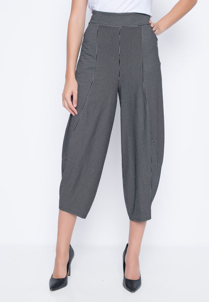 Front view of the Draped Pants With Pockets by Picadilly Canada