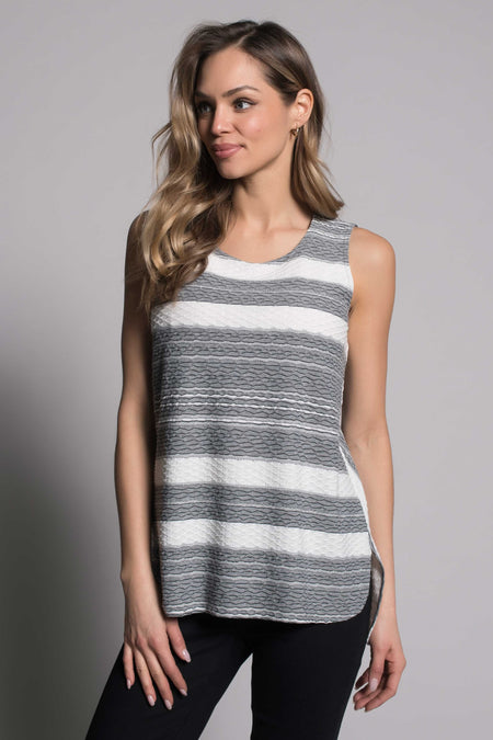 Curved Hi-Low Hem Tank
