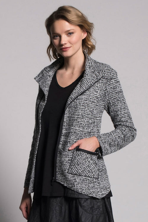Tweed Jacket With Pockets by picadilly canada
