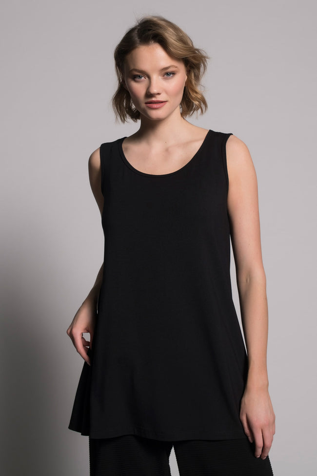 A-Line Tank in black by picadilly canada