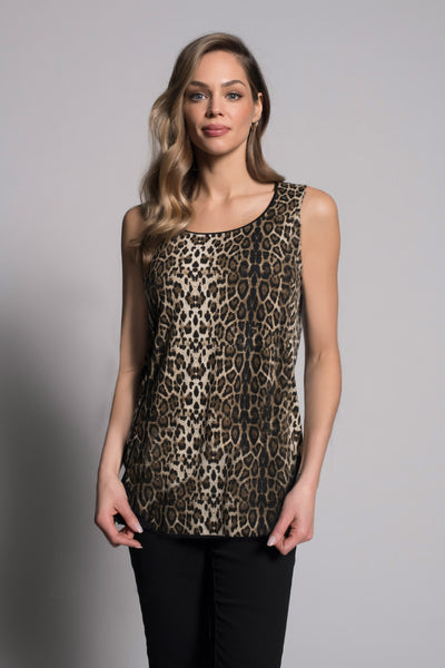 Animal Print Tank by picadilly canada
