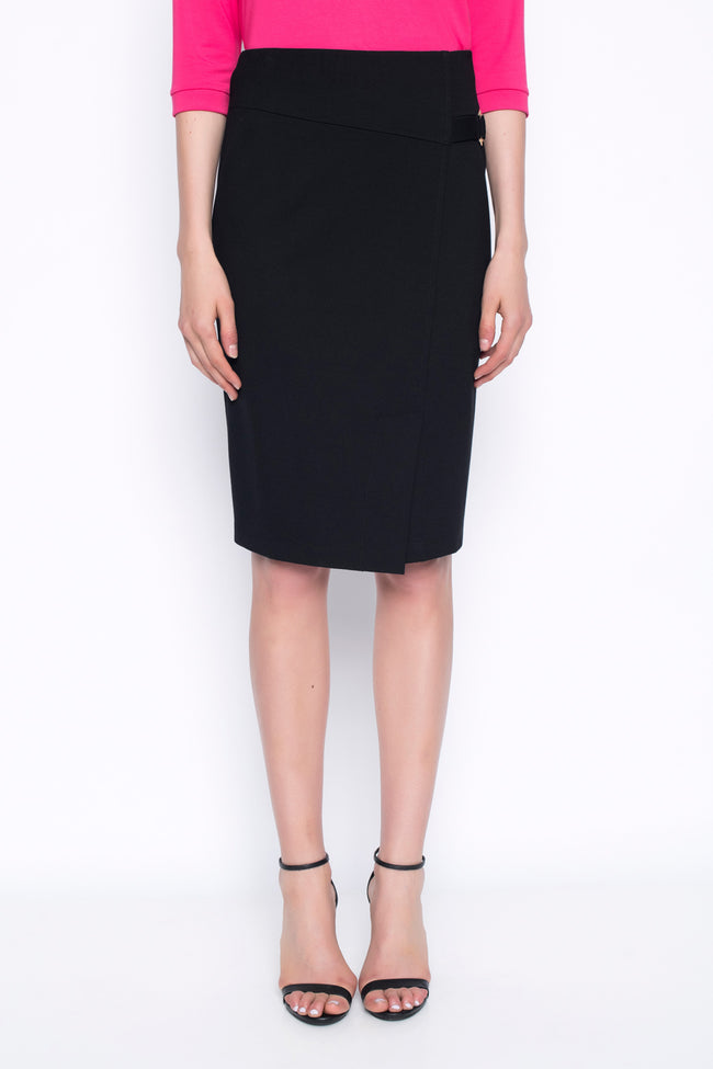Pencil Skirt With Buckle