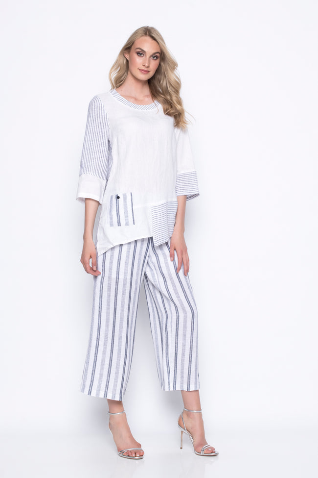 Asymmetrical Top With Pocket