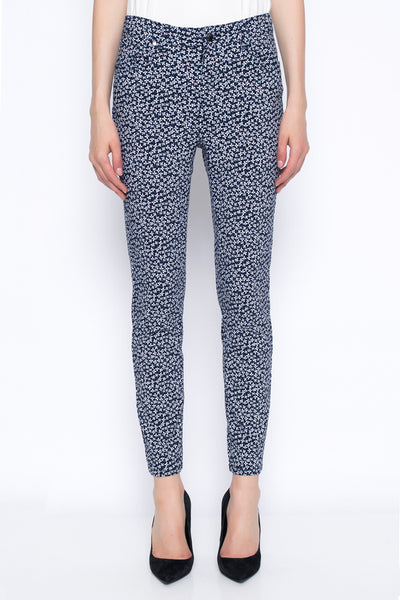 Floral Ankle Length Pants