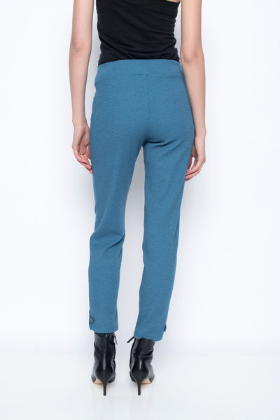 Pants With Button Tab Detail