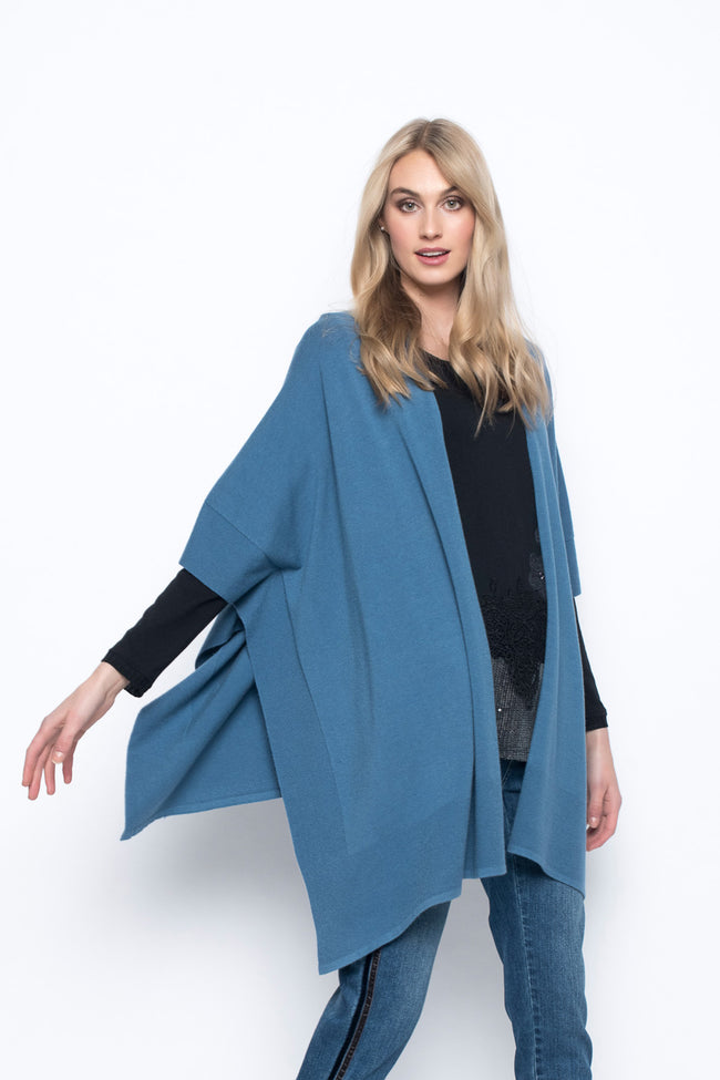Open-Front Poncho