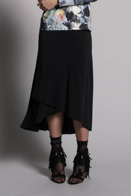 Pull-On Hi-Low Skirt by picadilly canada