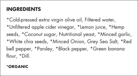 List of Mother Raw Ingredients in Ranch