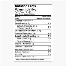 Load image into Gallery viewer, Cesar Dressing Nutritional Information