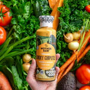Smoky Chipotle Ranch Bottle with Veggies