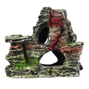 Artificial Resin Mountain Ornament