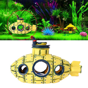 Resin Submarine Ornament