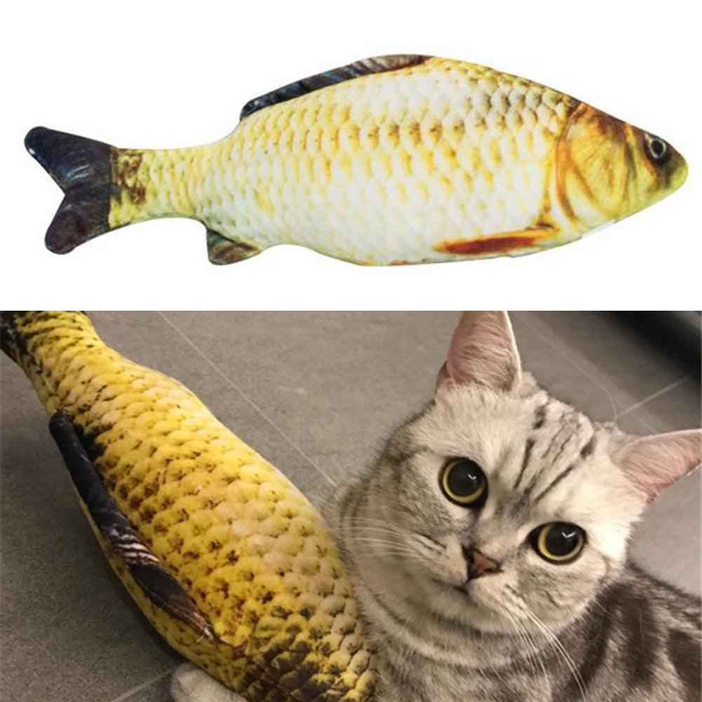 60cm Artificial Catmint Fish Toy