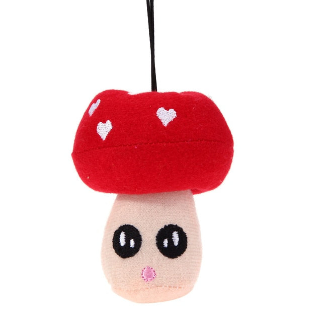 Toy Mushroom Squeaky Toy for Cats