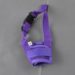 Adjustable Anti Bite Dog Muzzle