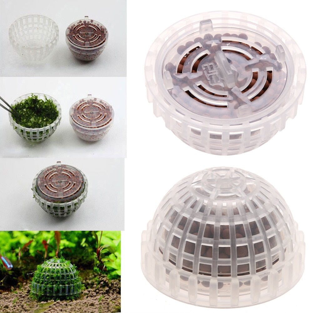 Plastic Moss Ball Filter with Minerals