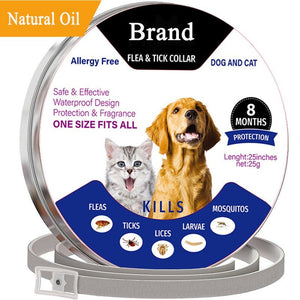 Adjustable Flea and Tick Collar for Pets