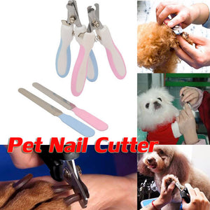 Pet Nail Scissors with Rasp