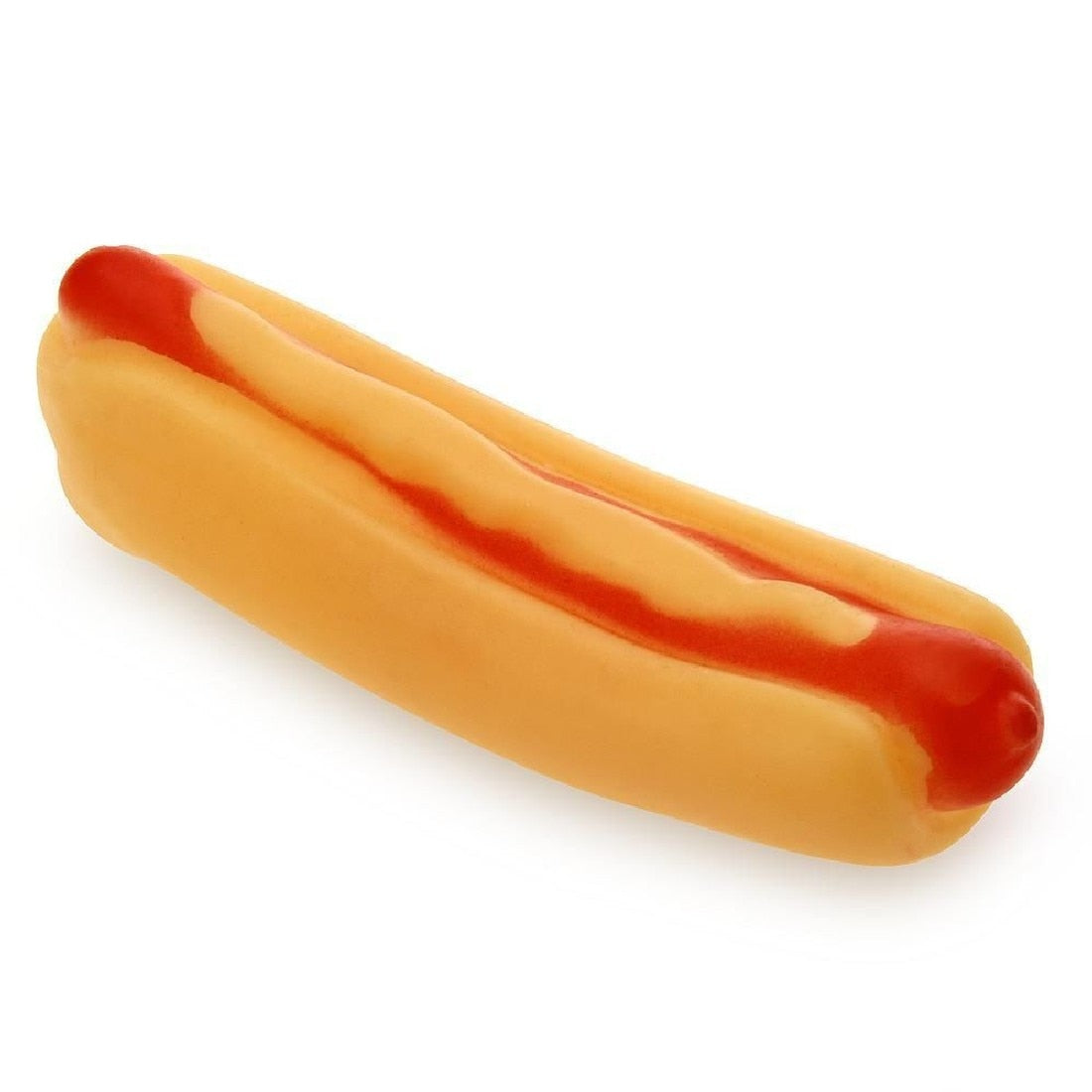 Pet Hotdog Squeaky Toy
