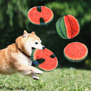 1PC Cotton Watermelon Dog Chew Toy
