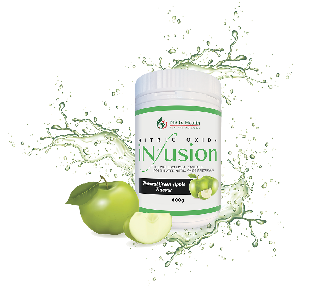 Nitric Oxide Green Apple Infusion