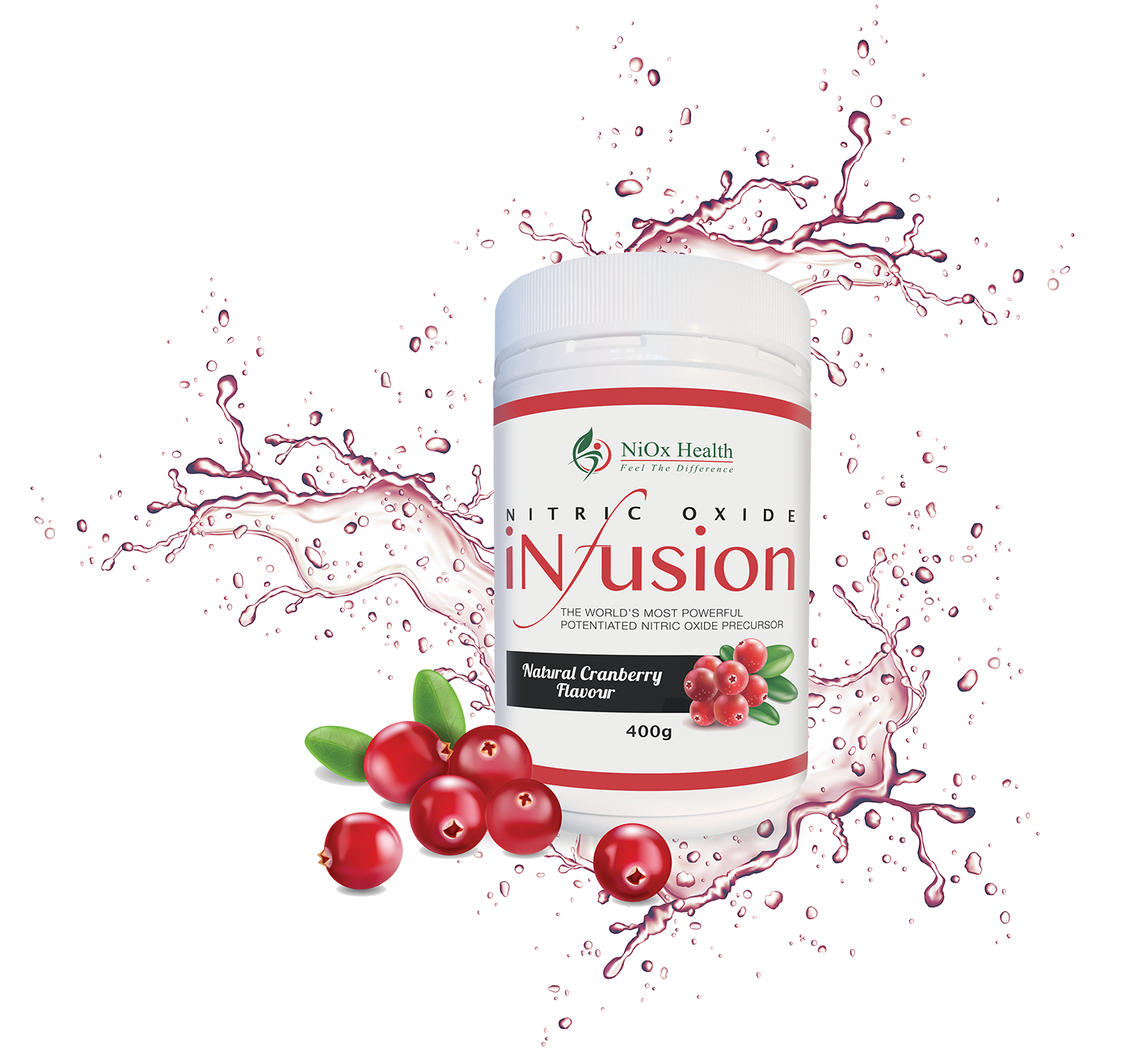 Nitric Oxide Cranberry Infusion