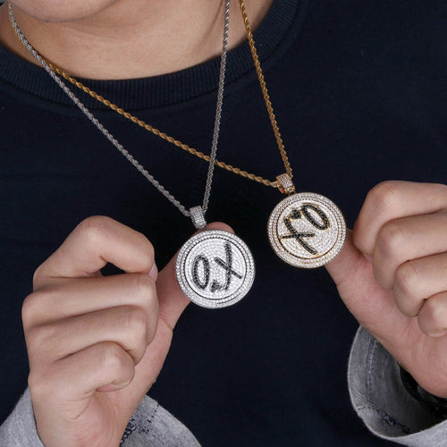 XO Spinner Pendant - Luxe Nationz
