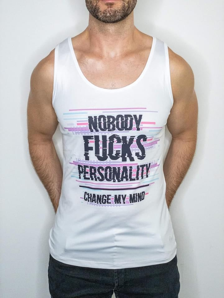 damn daddy fabulous me tank top