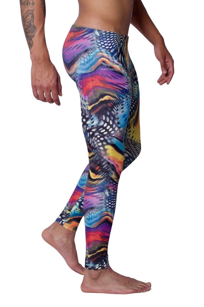 Wild Monarch - Men's Leggings - SokoWear