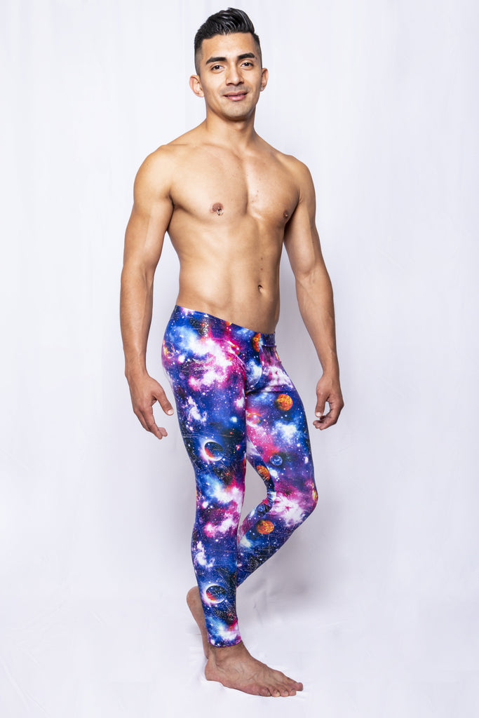 Galaxy - Men's Leggings - SokoWear