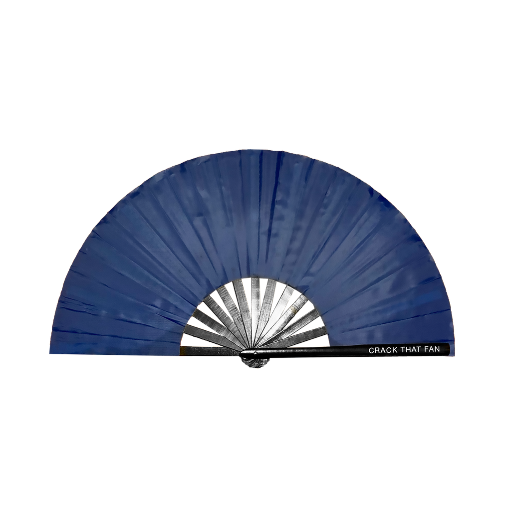 Solid Color Crack Fan (Nylon Fabric)