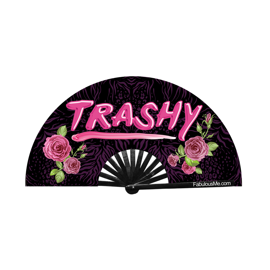 Trashy Fan (UV Glow)