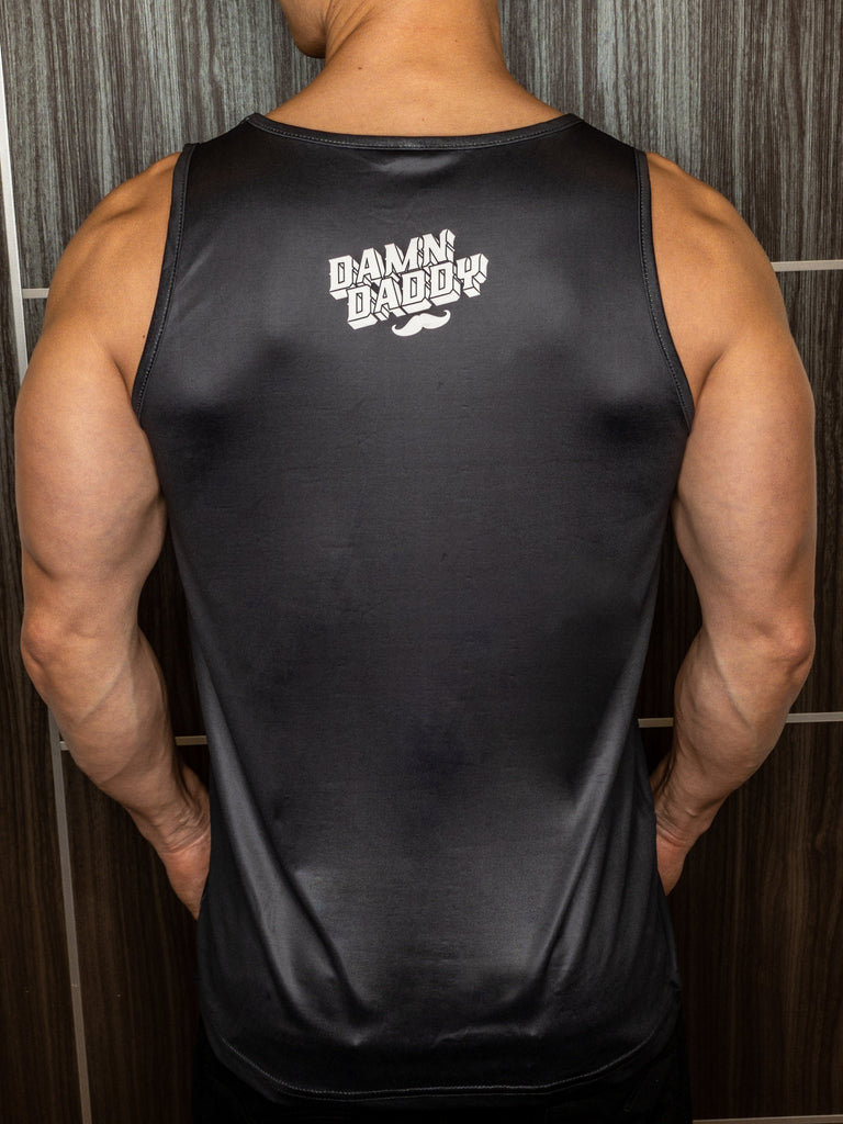 damn daddy tank top back view