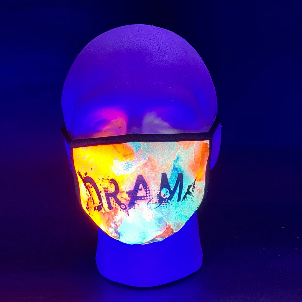 Drama UV Glow Face Mask by Lan Vu