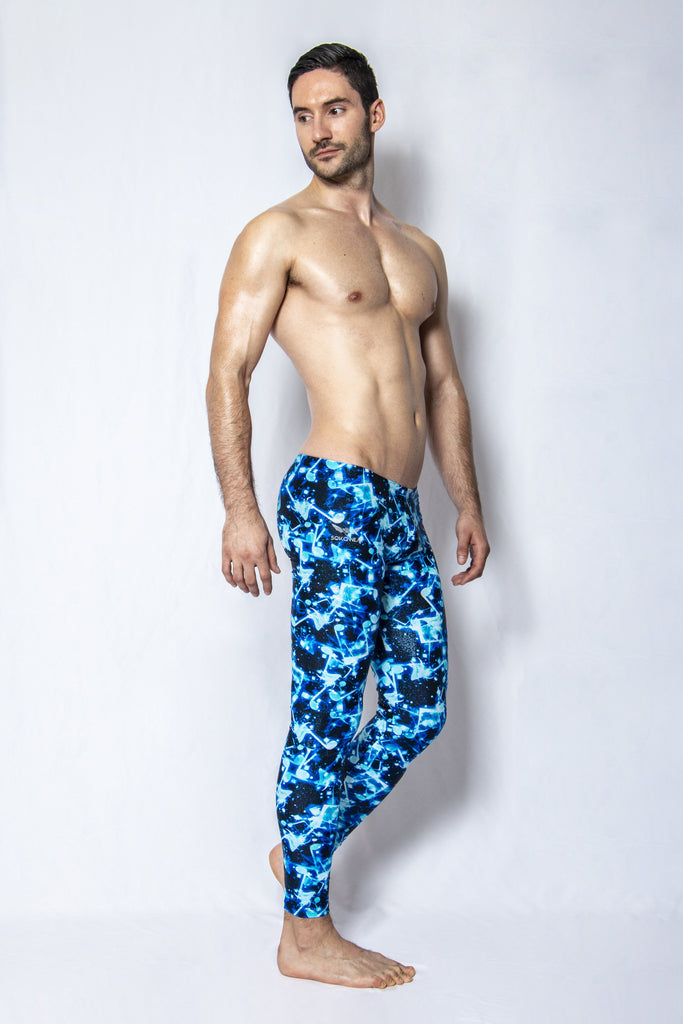 Electric Anthem - Men's Leggings - SokoWear